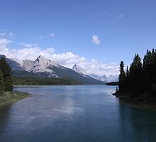 Maligne Lake, Jasper National Park by Brayden