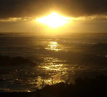 Golden sunrise by Hannah Fenton-Williams