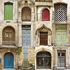 The Doors of Pézenas  by Shaun Goffe