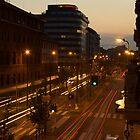 Milan Traffic by gfairbairn