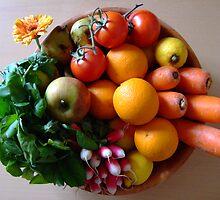 Organic basket by jalb