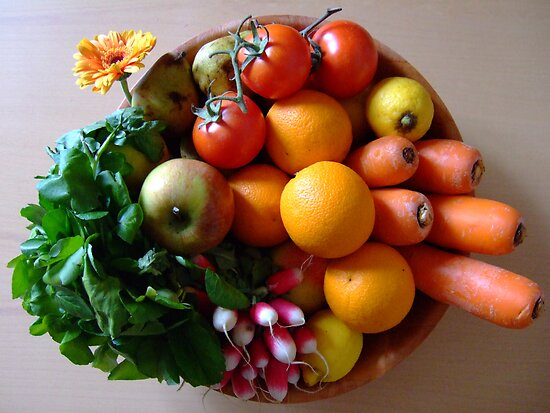 Organic basket by jalb