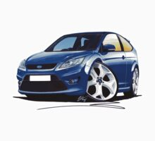 Ford Focus ST (Facelift) Blue by Richard Yeomans