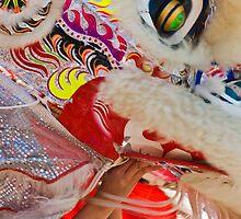 Nihonmachi Lion Dancer by Blaze  Williams