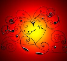 heart swirl by oreundici