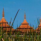 Thai Pagodas by Michael Rubin