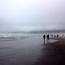 Arcadia Beach Fog by Tamara Valjean