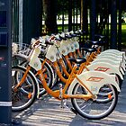 New bicycles for rent in Milan by Meeli Sonn
