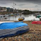 guernsey harbour HDR by mark connell