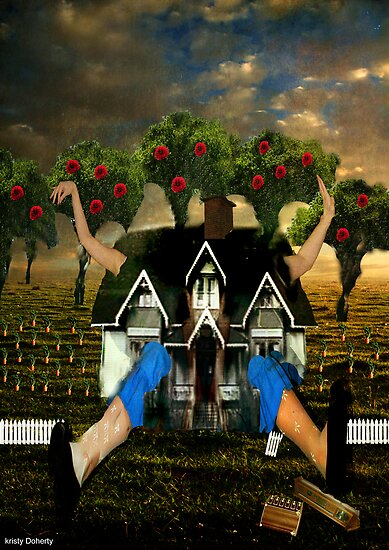 Alice through the house by 1chick1