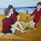 Fun on the Beach by Neil Trapp