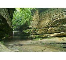 LaSalle Canyon Waterfall Photographic Print