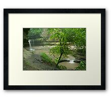 """Then Mother Nature said, """"Let There be Rain!"""" Framed Print"""