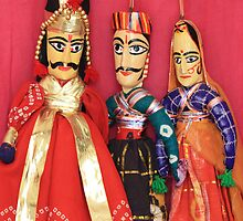 Rajasthani Dolls by Indrani Ghose
