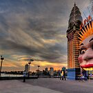 Icon -  Luna Park , Sydney - The HDR Experience by Philip Johnson