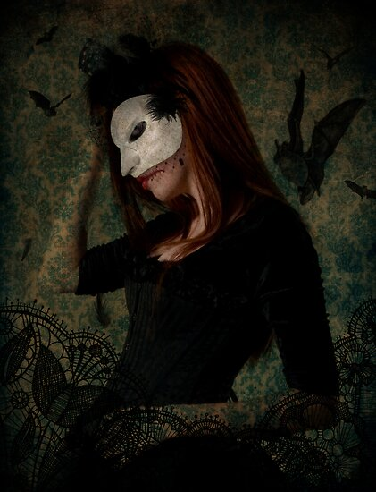 Masked Death by Voila and Black Ribbon