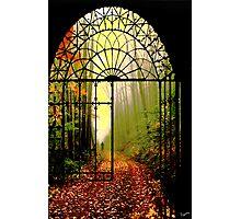 Gates of Autumn Photographic Print