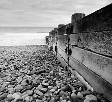 Groyne, St Bees by Andy Stafford