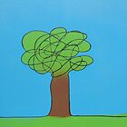 squiggle tree  by Irwin