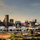 Baltimore Skyline by Samuel Gordon