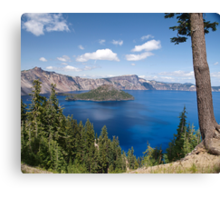 Summer Time At Crater Lake Canvas Print