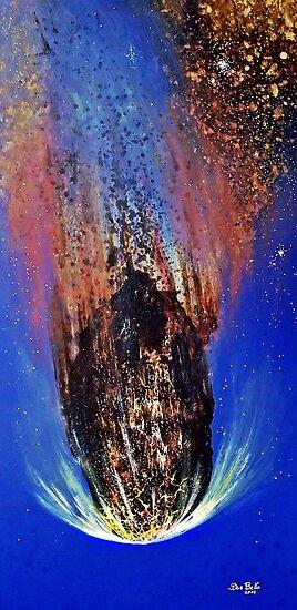 Asteroid Apohis by Bob Bello