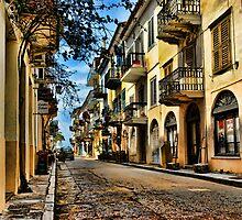 Nafplio - Old Town... Take 2 (Collaboration with Monocotylidono) by Nathalie Chaput