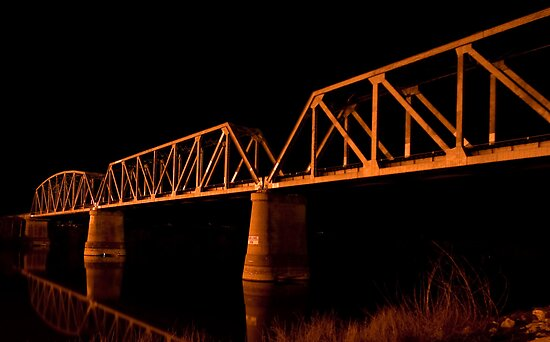 Railway Bridge by Dave  Hartley