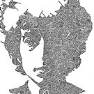Garabato Bob Dylan by JeffBowan