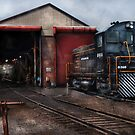 Strasburg Repair Center by Mike  Savad
