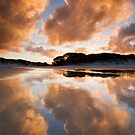 Rarawa Sunset. by Michael Treloar