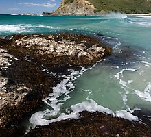 Tapotupootu Bay. by Michael Treloar