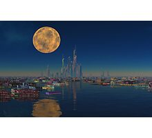 City on the Bay Photographic Print