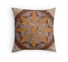 Web of complexity Throw Pillow