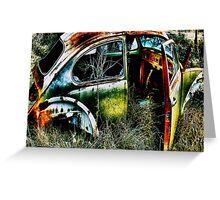 Herbie The Love Bug  2  ~   BoneYard Series  Greeting Card