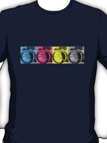 CMYK Camera T-Shirt T-Shirt
