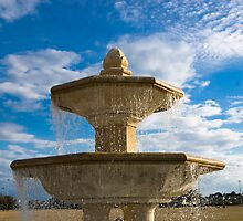 The Fountain at Blue Jacket park by hertzalot