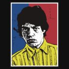 Jagger-Pop-art by OTIS PORRITT
