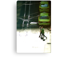 Cross Walk Canvas Print