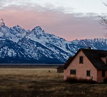 Peach House, Mormon Row, Tetons by A.M. Ruttle