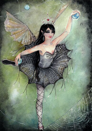 Arabella The Spider Faerie by KimTurner