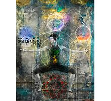 Balancing The Chakras Photographic Print