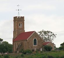 Little church on the hill, Old Noarlunga. by elphonline
