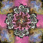 Heavenly Reflections Mandala by JenLand