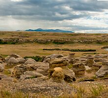 Writing On Stone Provincial Park (Pano) by Kerri Gallagher