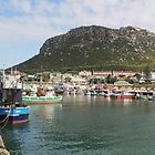 Inside Kalk Bay harbour by Riaan Hefer