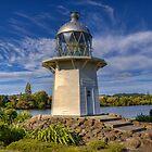 Old Portland Island Lighthouse, Wairoa by Tony Burton