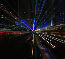 Surfers Paradise Zoom Burst by Grant Scollay