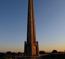 Admiral Lord Nelson's Monument - Portsdown Hill 01 by Sharon Perrett