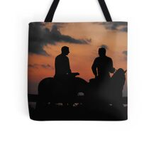 Last Look ~ Statue of Joseph & Hyrum Smith ~ Nauvoo, Illinois Tote Bag